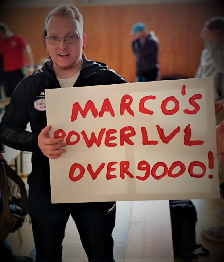 Marco´s Powerlevel OVER9000!