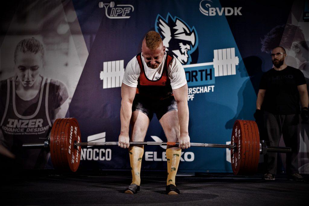 290 kg Deadlift Versuch! Norddeutsche Meisterschaft 2019.